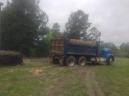 Big Truck full of dirt